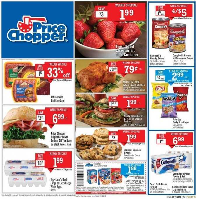 price chopper flyer vt