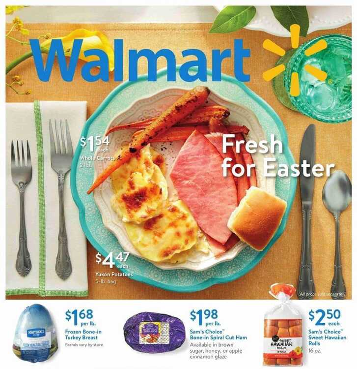 walmart grocery ad weekly ad March 19 to March 29 2018