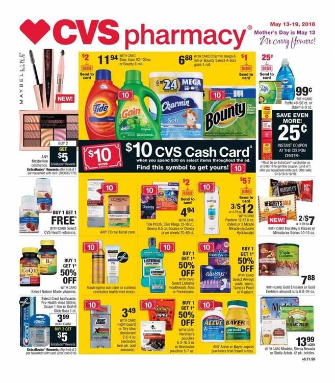 cvs weekly ad 5/13