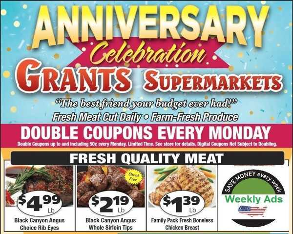 grant's weekly ad