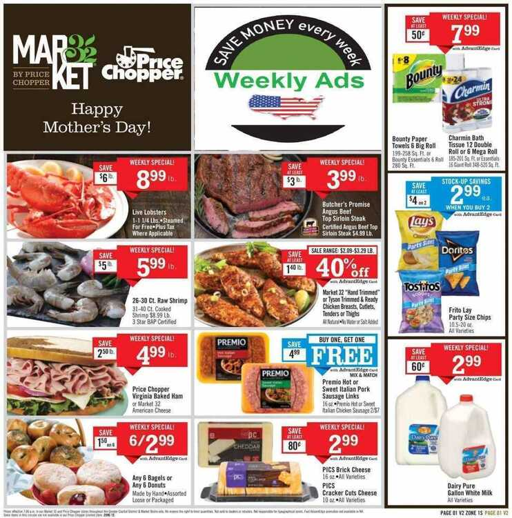 price chopper weekly ad 5/15 to 5/19 2018