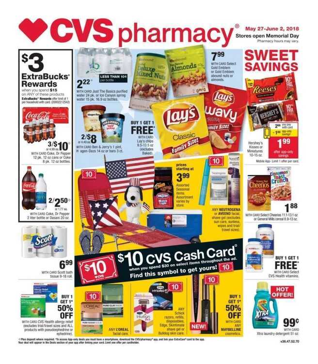 cvs weekly ad this week 5/27