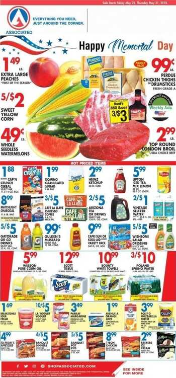 associated supermarket weekly ad