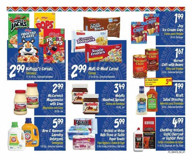 Food City Weekly Ad Tucson June 10 To June 17 2018 Page 7 Of 7