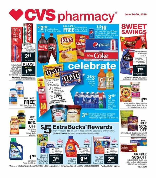cvs weekly flyer this week 6/25 to 6/30 2018 CVS pharmacy