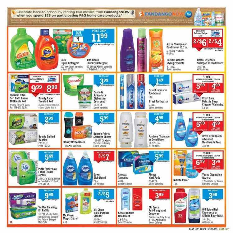 Price Chopper weekly ad 7/15 to 7/21 2018