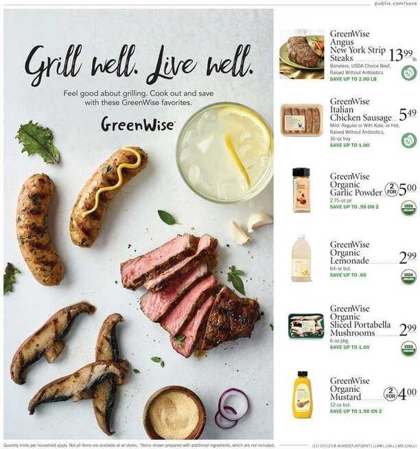 publix ad this week July 13