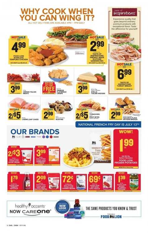 Food Lion Weekly Ad Martinsville Va 712 To 717 2018 Page 5 Of 11