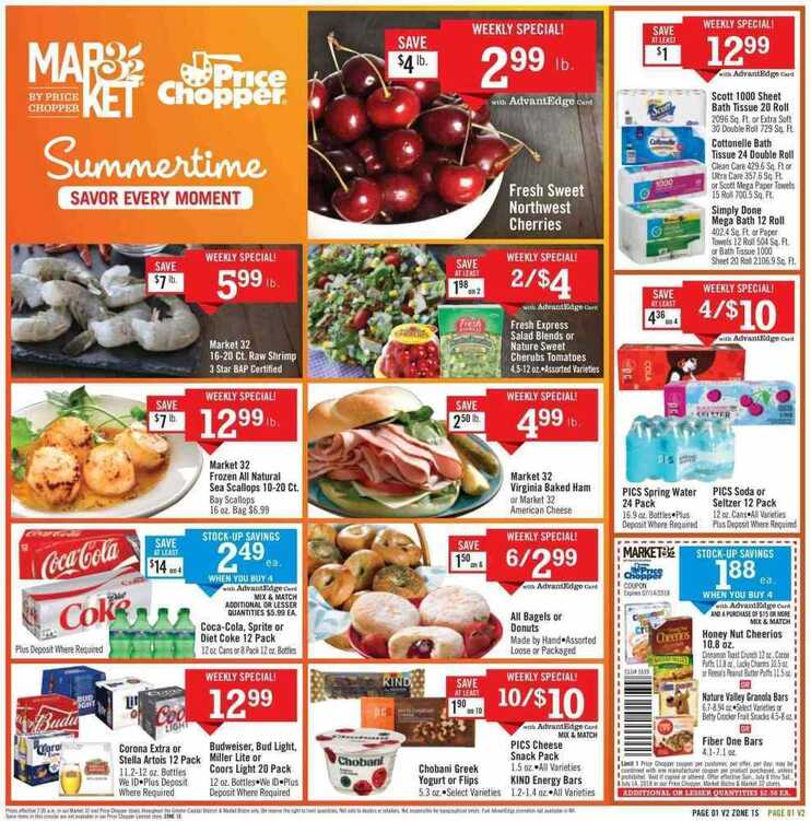 price chopper weekly ad 7/8 to 7/14 2018 Summer time
