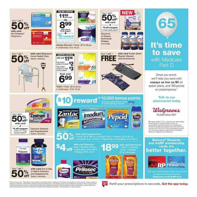 walgreens weekly ad this week 7/8 to 7/14 2018 Deals of the Week