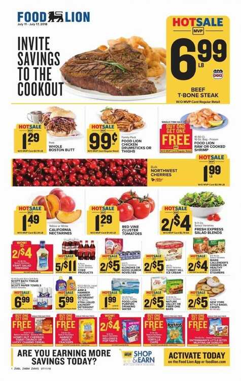 food lion weekly ad martinsville va 7/12 to 7/17 2018