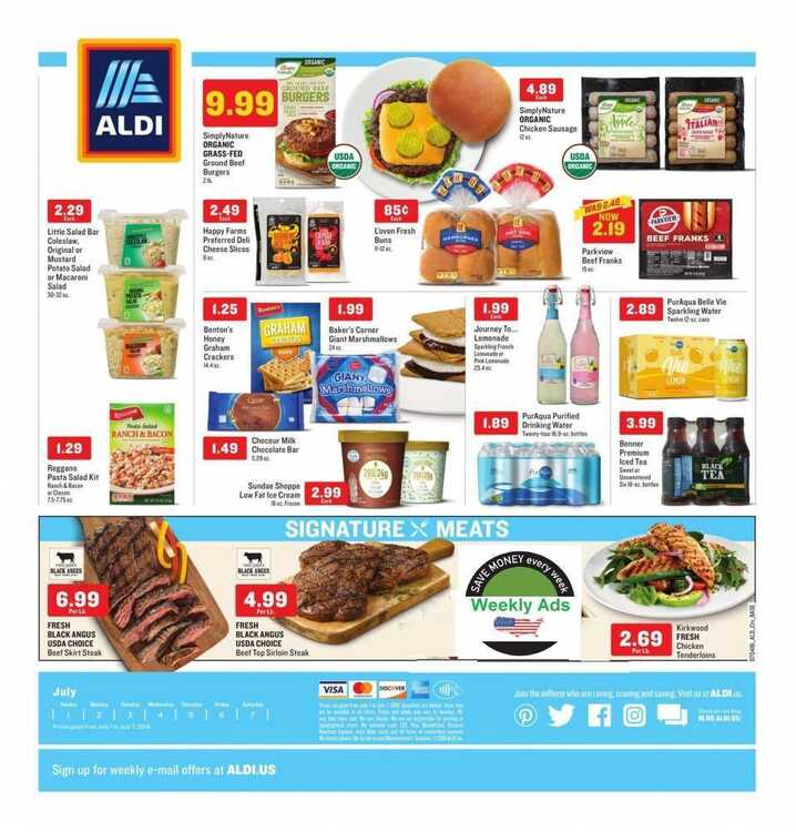 aldi ads happy 4th of july 2018 valid to July 7 2018