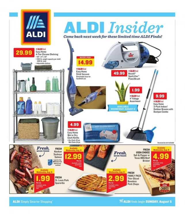aldi insider weekly ads 8/5