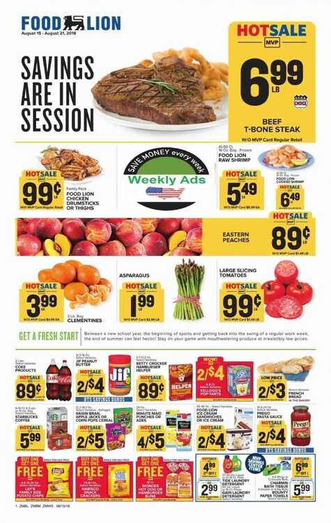 food lion weekly ad charlotte nc 8/17 to 8/21 2018