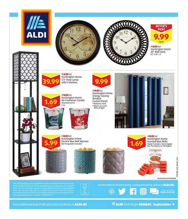 aldi weekly ad 9/9 to 9/15 2018 Big Aldi Deals for September