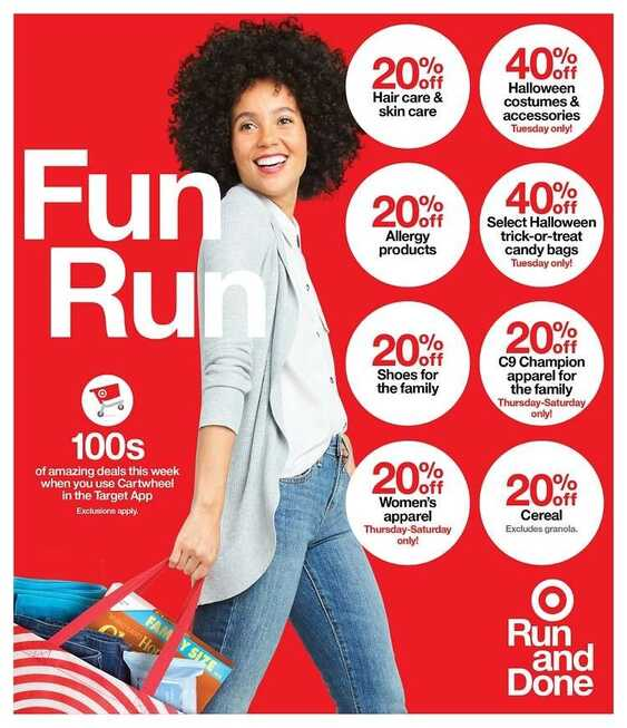 target sales ad this week September 20