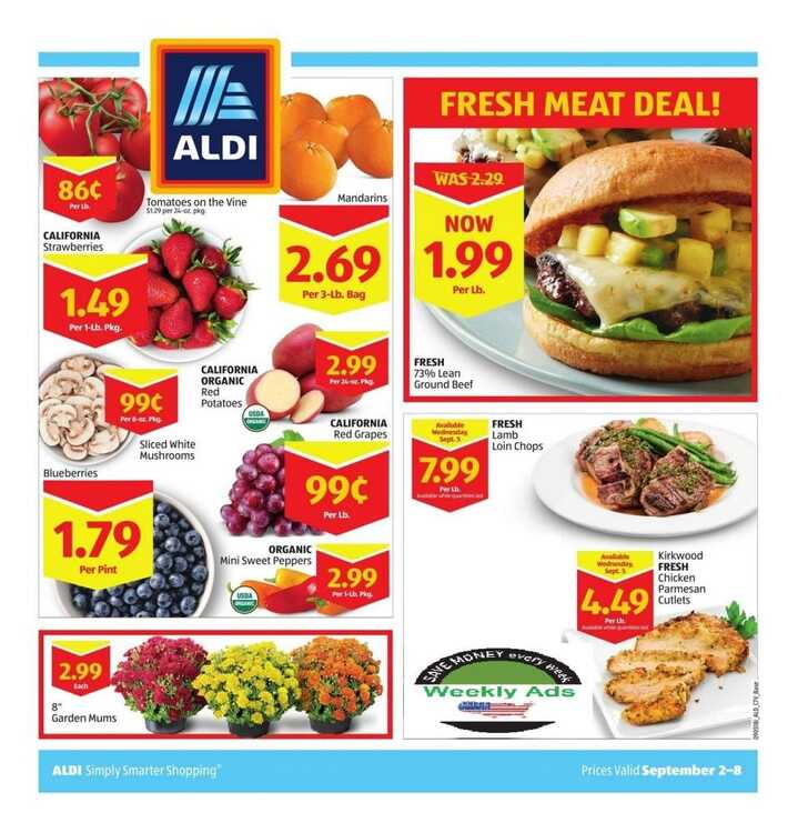 aldi weekly ad greenville sc September 2 to September 8 2018