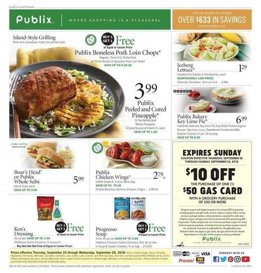 publix weekly ad knoxville 9/20