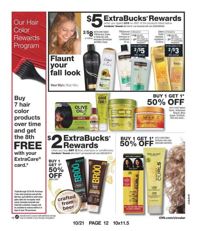 cvs weekly ad October 22