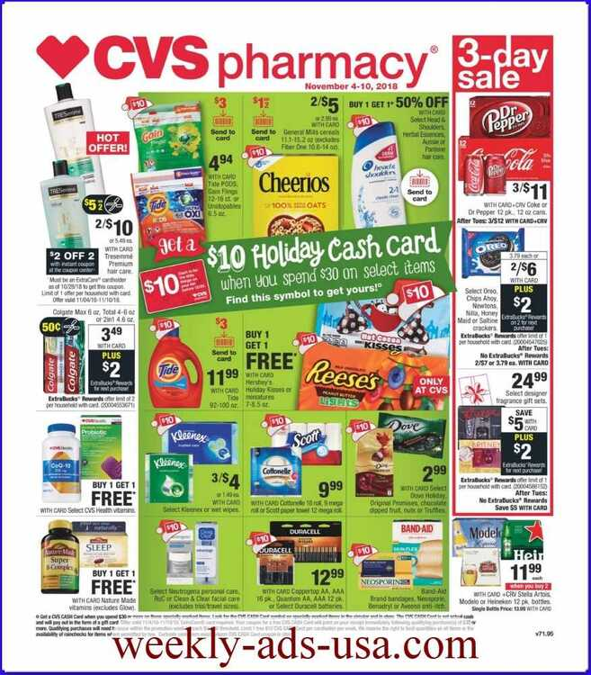 cvs weekly ads 11/6