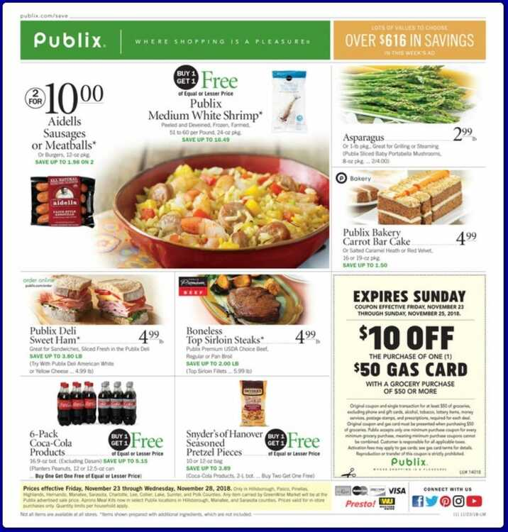 publix weekly ad 11/24